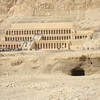 Funeral temple of female pharoh Hatshput near Valley of the Kings