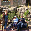 Tea stop at picturesque hotel near Nubian village