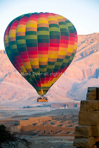 Hot air balloon at Luxor