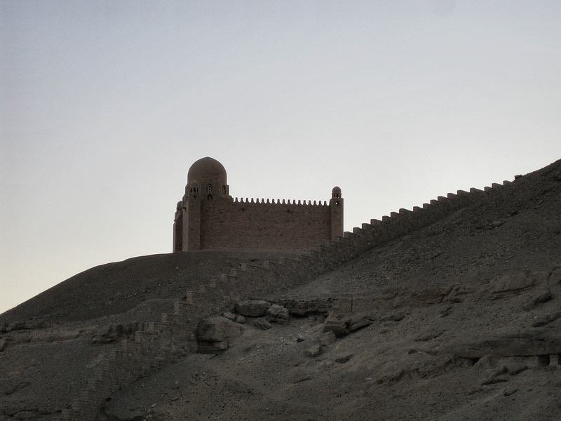 Mausoleum of Aga Khan, Aswan.
