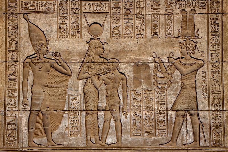 Temple  of Goddess Hathor at Dendara