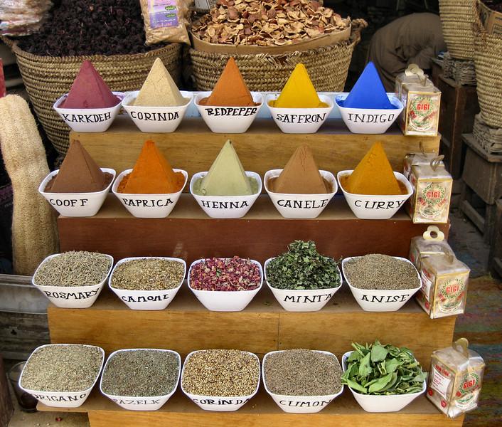 Bazaar, Aswan.