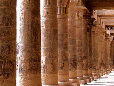 April 3, 2011. Egypt. Philae Temple. Sacred Temple to the Goddess Isis.