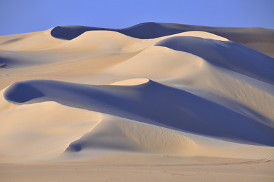 Sand dunes in the Western Desert