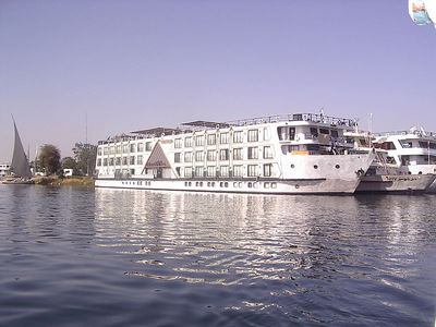 Our Nile Cruise Ship, Miss World.