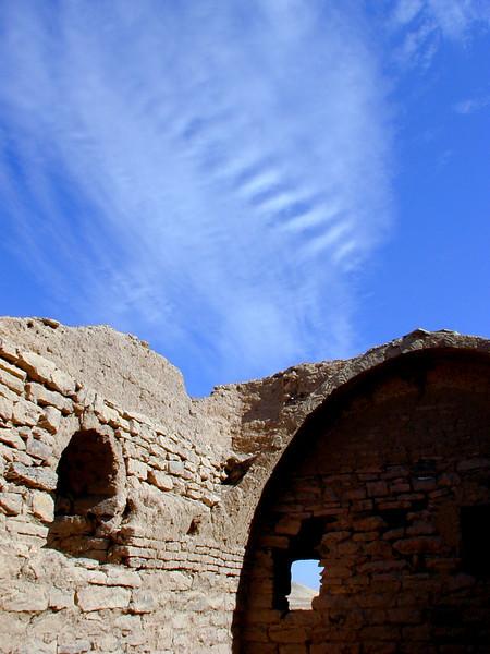 Granary at the monastery of Saint Simeon, Aswan.