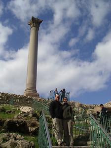 Pompey´s Pillar in Alexandria.