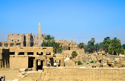 Karnak Temple - overview from East