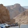 Entrance to the Valley of the Kings, where, for a period of nearly 500 years from 1600BC, tombs were constructed (and hidden)  for the Pharaohs and powerful nobles of the Kingdom.  <br /> Today, camera are not allowed inside the valley. So this is the only picture I can take for the place.