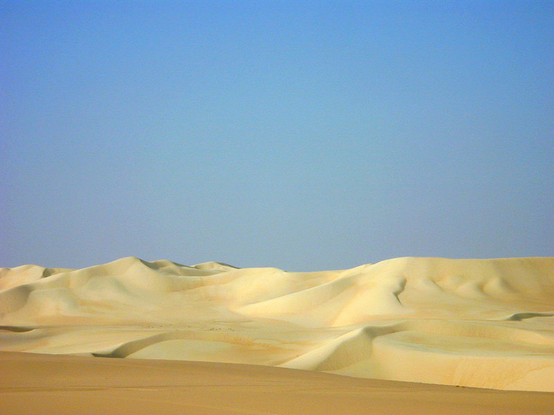 The Great Sand Sea, near Siwa.
