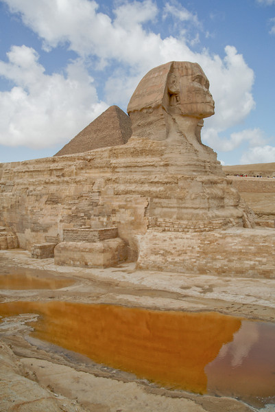 Sphinx After the Rain