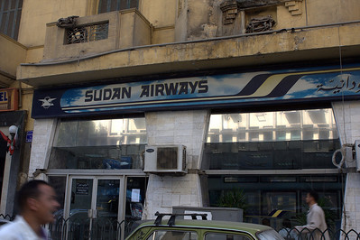 I hear Sudan Airways is offering cheap flights...if you dare.