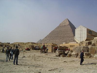 Pyramid of Khafren (Cheops son)