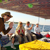 Sailing to High Tea at Movenpick hotel on Elephantine Island at Aswan