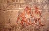 014  Tombe van Ankhma Hor - Muurschildering van vóór de uitvinding van het wiel