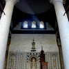 Minbar and mihrab of the Mosque of An-Nasir Mohammed, at the Citadel, Cairo.