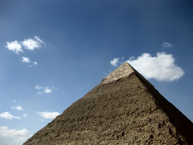 Pyramid of Khafre, Giza.