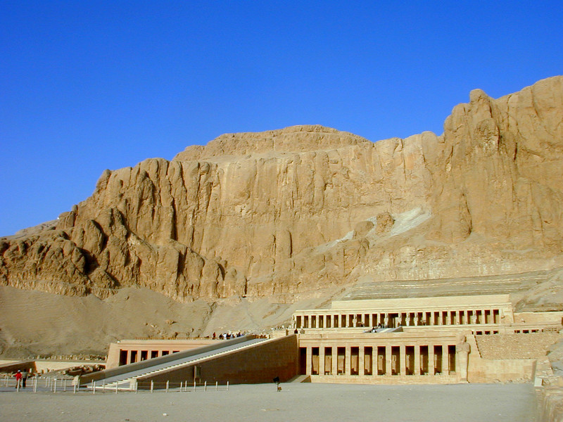 Funerary temple of Hatshepsut at Deir el Medina.
