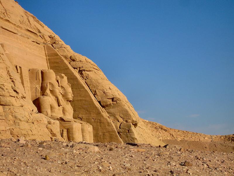Abu Simbel temple.