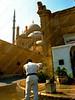 Egypt - Cairo - citadel - tourist police