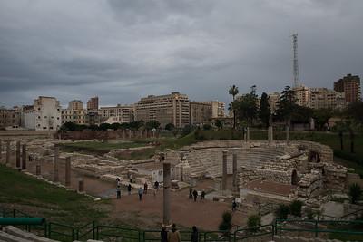 Roman ruins Alexadria