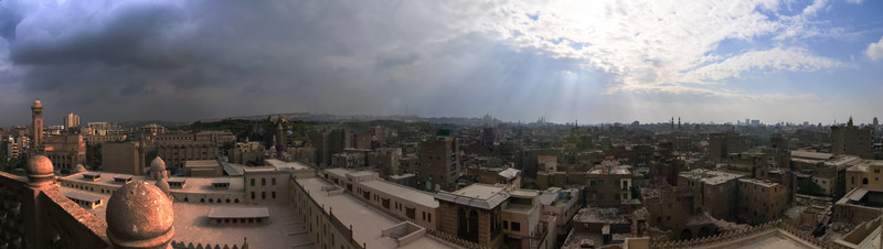 Cairo, Egypt from the Saladin Citadel