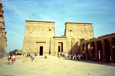 Isis tempel Philae