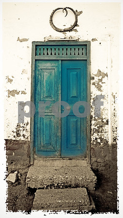 Blue Door in Qurna. Please note: this is not a standard size. If you want to order a print,  please contact me directly at 425-259-1807.