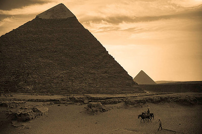 Another View of Pyramid of Khafre
