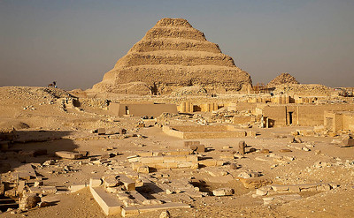 The Step Pyramid of Djoser_Saqqara