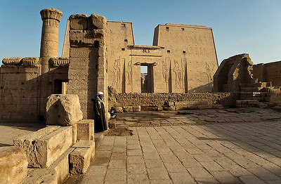 On the way to Edfu Temple