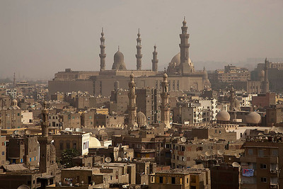 Overlooking the Islamic Cairo