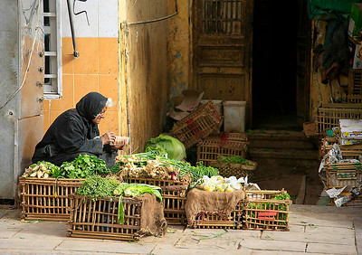 At the Edfu Market