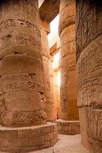 Giant Columns at Karnak