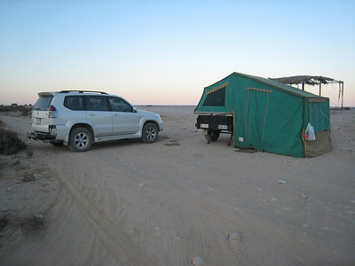Our camp site for 3 nights, on a deserted beach 2 hours drive from Muscat.