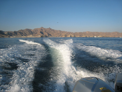 Heading out of Muscat for some dolphin watching.
