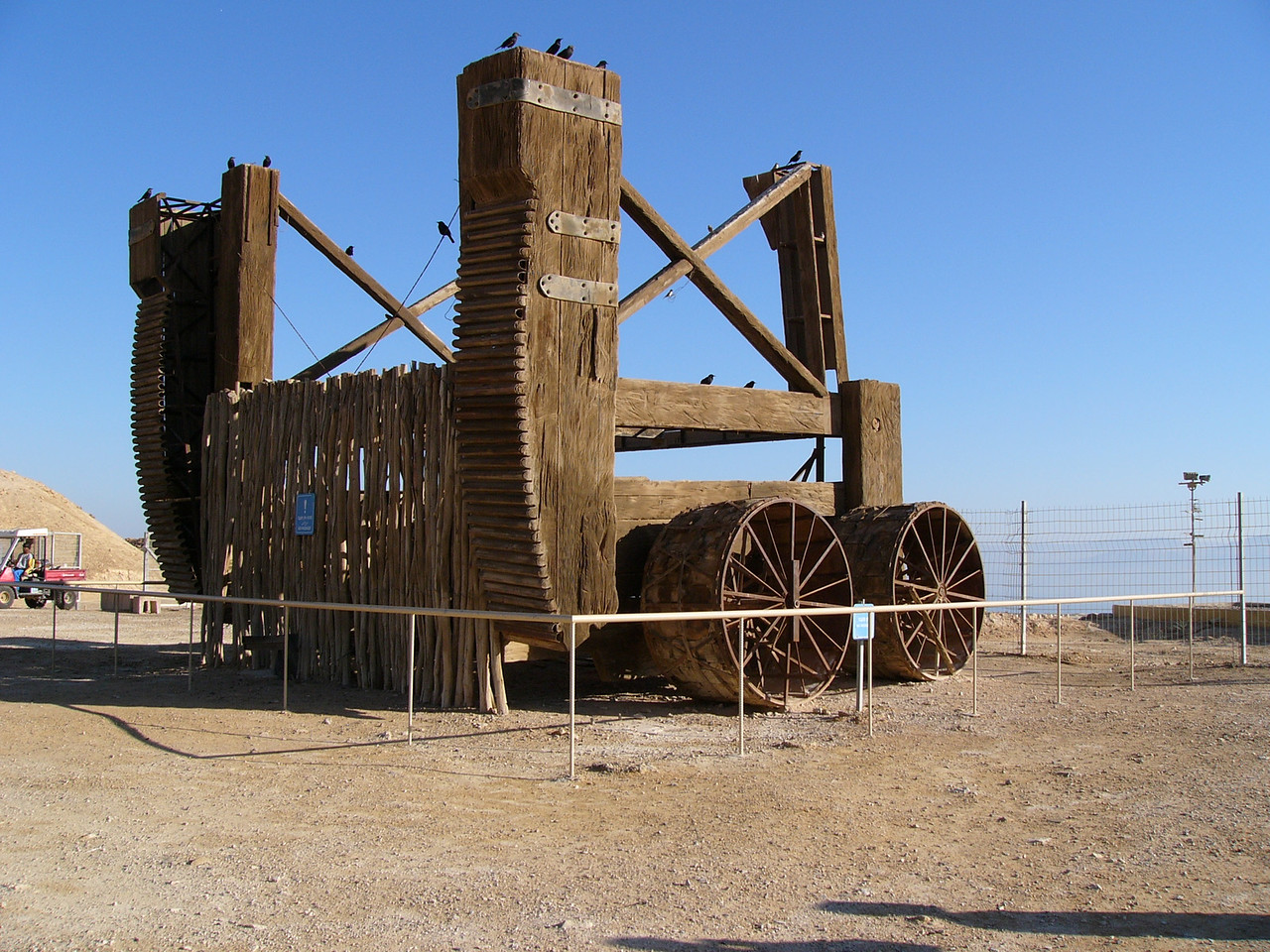 Masada siege engine