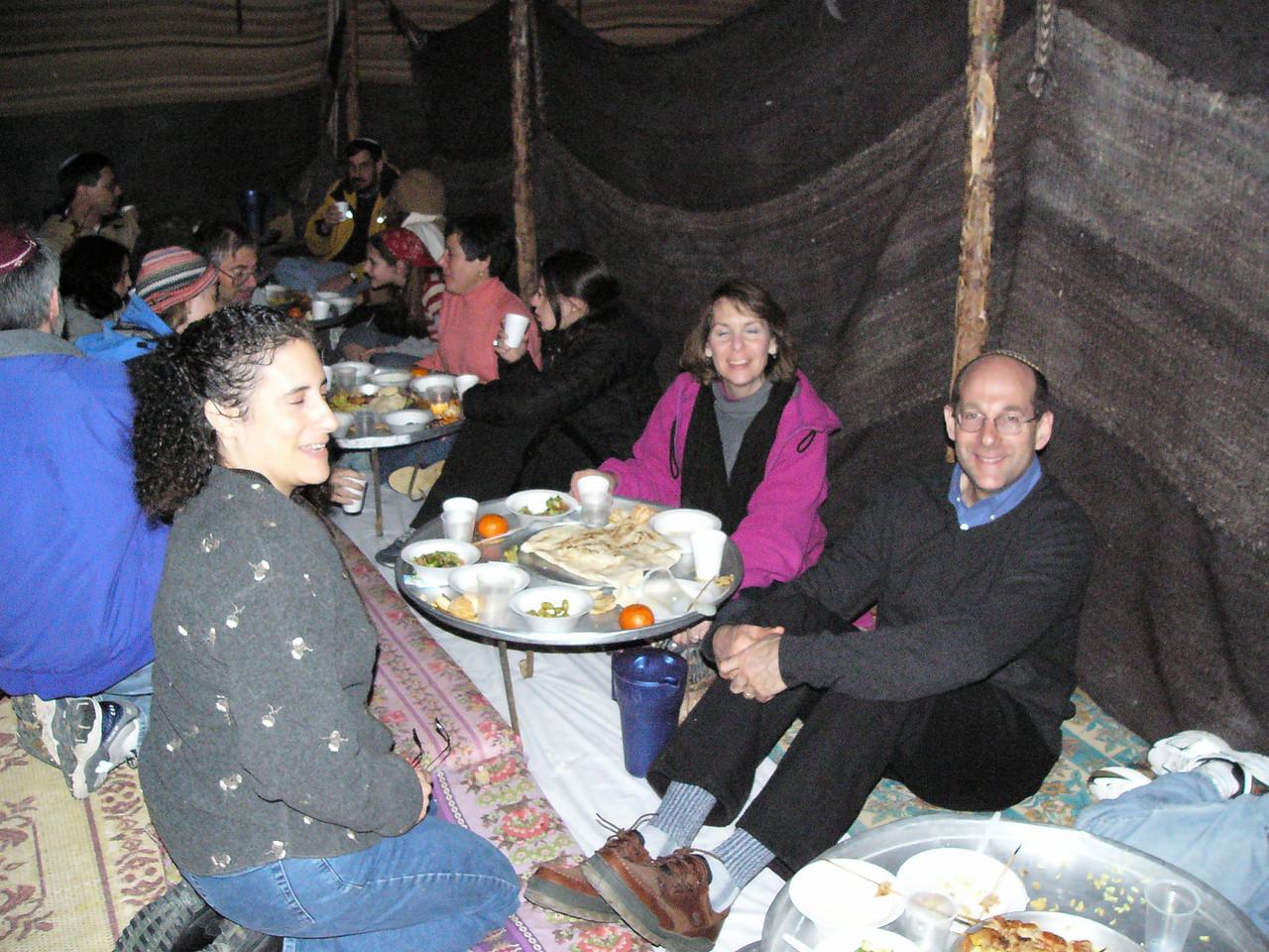 Tent dinner 5