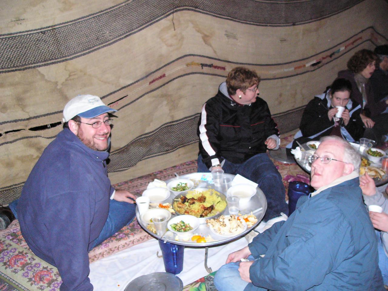 Tent Dinner 2