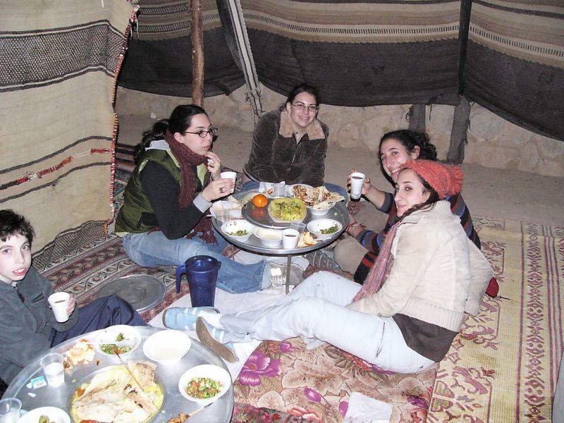 Tent dinner 3