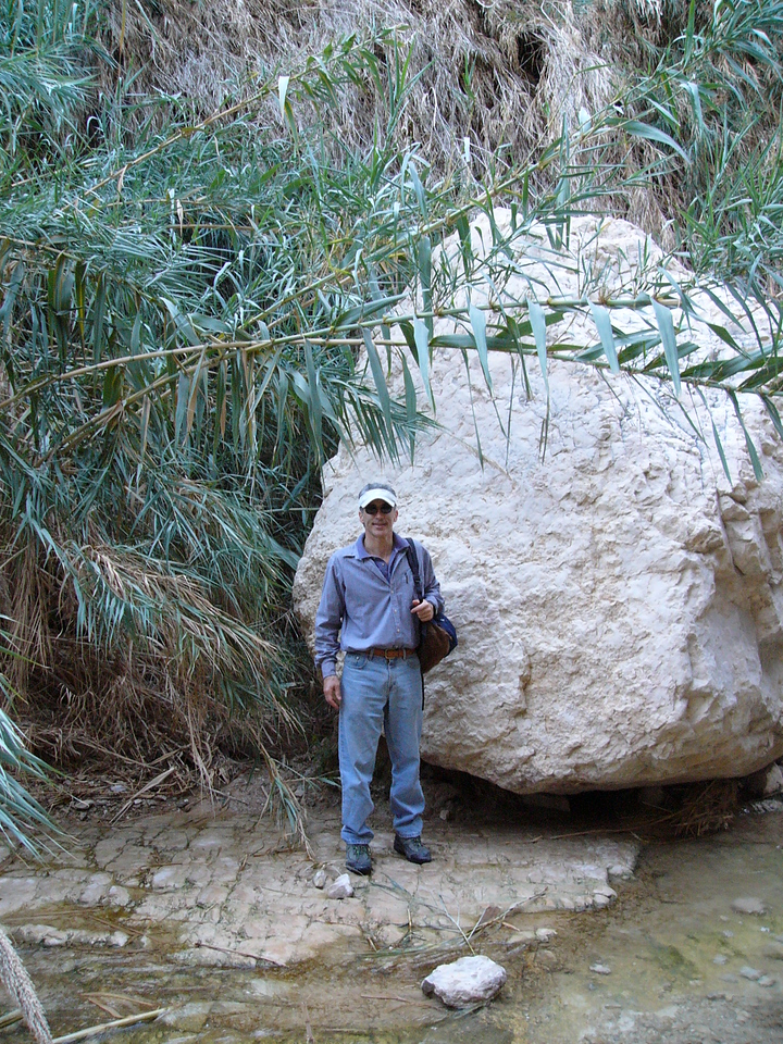 Ein Gedi - Barry and the Rock