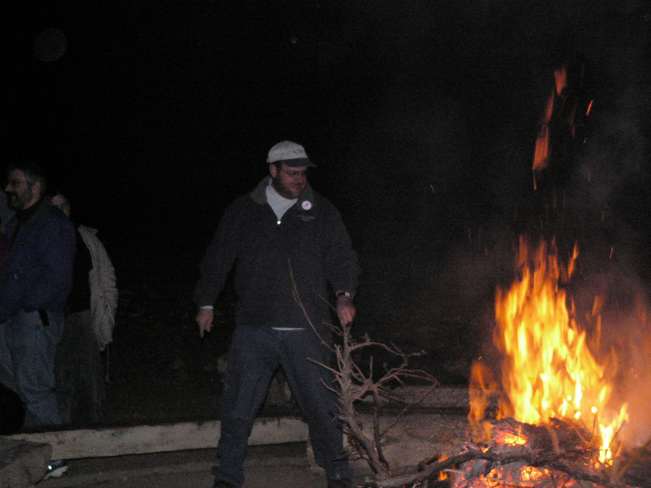 Rabbi Stokes the Fire