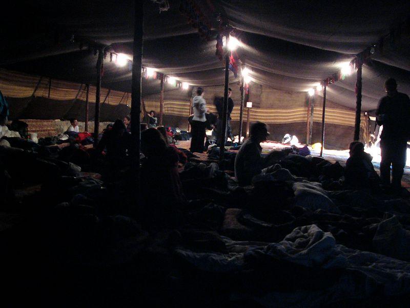 Bedouin camp - accomodations