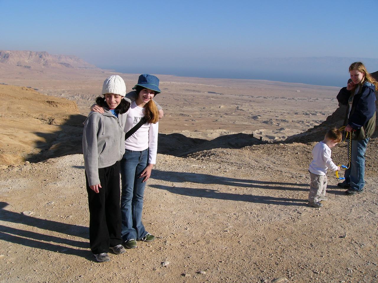 Masada rest stop