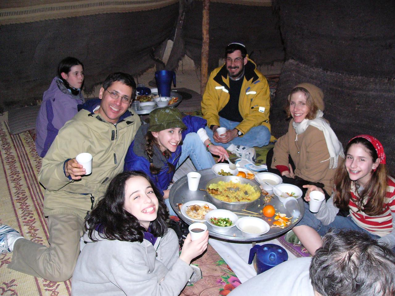 Tent dinner 4
