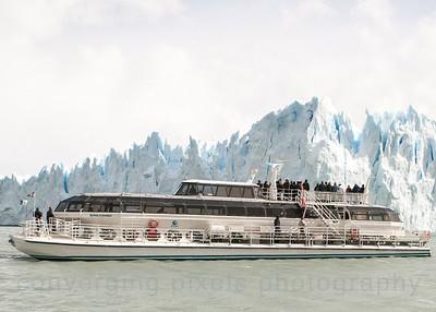 El Calafate, Pierto Moreno Glacier, Argentina