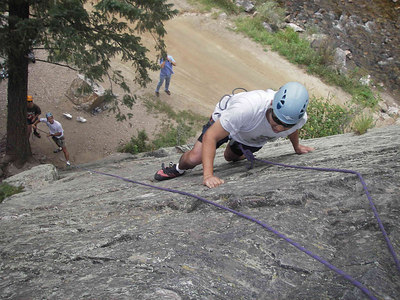 Eldorado Canyon Park-Rock Climbing in Boulder Colorado (Sep. 7, 2006)