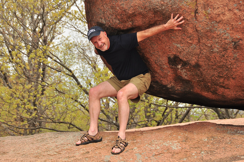 me under the Elephant Rock