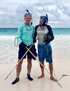 Ready for Tony's  lobster diving lesson