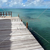 A pier on the island of Eleuthera, Bahamas, in the Caribbean.